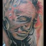 tattoo indian head