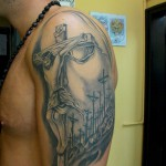 tattoo jesus golgotha
