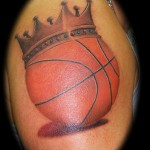 tattoo basketball